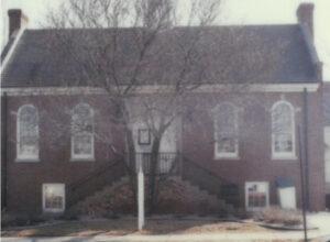 Original library building