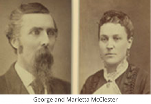 George and Marietta McClester