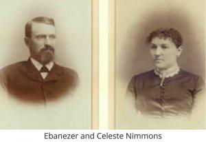 Ebanezar and Celeste Nimmons
