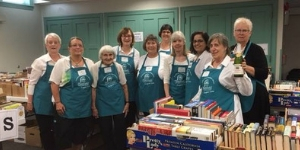 Friends of the Plainfield Library members