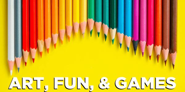 Art, Fun, and Games