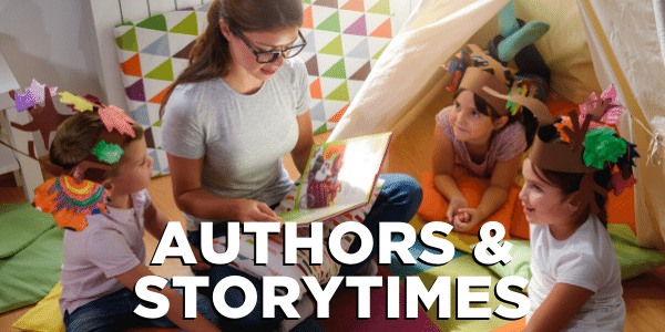 Authors and Storytimes