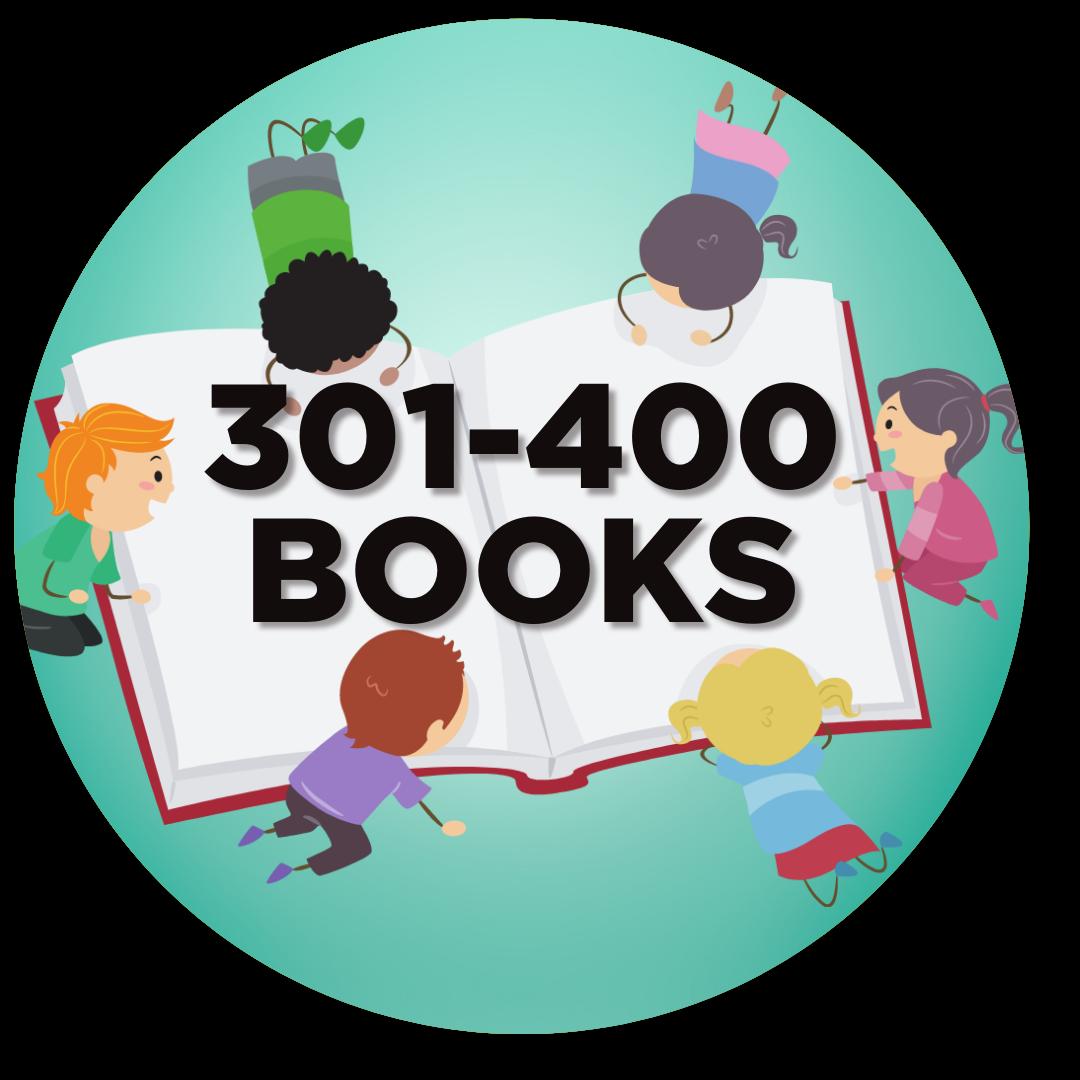 400 books