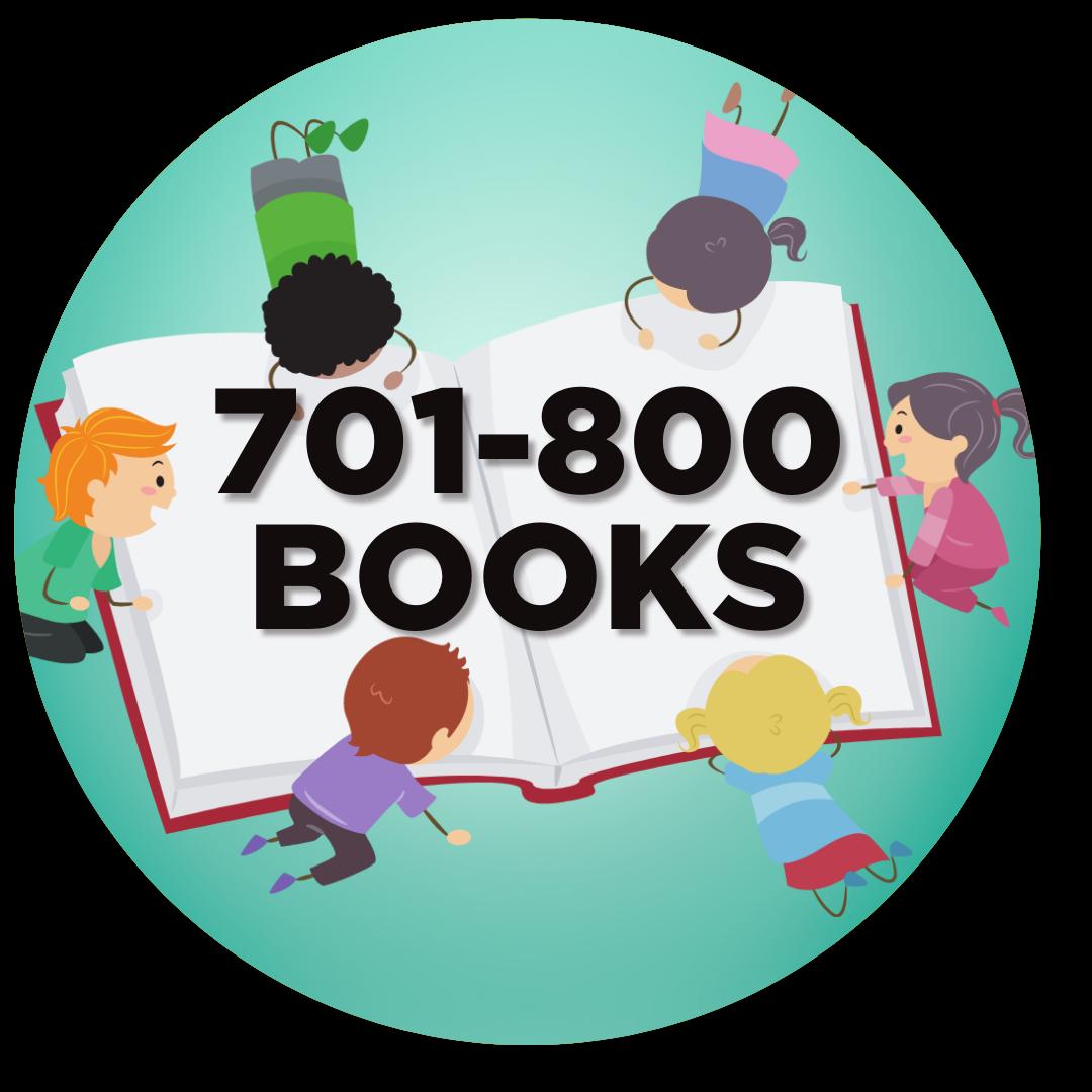 800 books