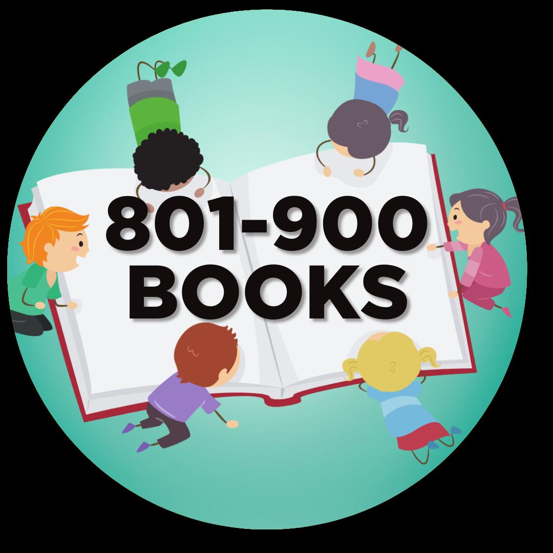 900 books